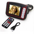 "LCD Car Modulator Memory Function MP3 MP4 1.8"" Player FM Transmitter SD/MMC(400742442573)"
