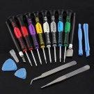 16 in 1 Screwdrivers Repair Tool Kit Set For Mobile Phone Samsung iPhone 4S 5 5S(380943678313)