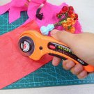 Safety Rotary Cutter Fabric Cloth Cutting Sewing Quilting Quilters Crafts Too