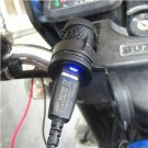 Latest 12V Motorcycle HandleBar Cellphone USB Charger Power Adapter Waterproof