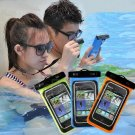 1 X Blue Waterproof Bag Underwater Pouch Dry Case Cover For iPhone Cell Phone Samsung