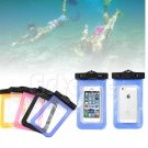 1 X Orange Waterproof Bag Underwater Pouch Dry Case Cover For iPhone Cell Phone Samsung