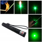 Adjustable Focus Military Green Laser Pointer Pen 4mw 532nm Zoomable Burning
