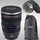 24-105mm Travel Coffee Mug cup Thermos Tea stainless Lens camera Exquisite