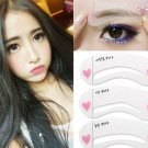 Eyebrow Grooming Stencil With 3 Styles Brow Template Shaping Shaper Make Up Kit