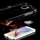 Transparent Clear TPU Silicone Cover Skin Case For Samsung Galaxy S6 Plane