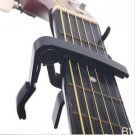 Black Guitar Capo Made of Aluminium alloy Guitarra Capotraste(TOP-I59 series)Black