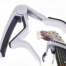 Silver Guitar Capo Made of Aluminium alloy Guitarra Capotraste(TOP-I59 series)