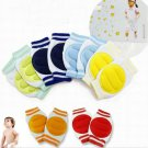 1 Pair Blue Kids Safety Crawling Elbow Cushion Baby Knee Pads Protector (181472163268)