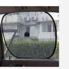2 X Foldable Side Window Screen Mesh Sun Shades for Car(BICP002524)