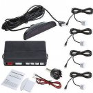 White Car Parking Sensor  Reverse Backup Radar Monitor System (TOM-parking sensor White )