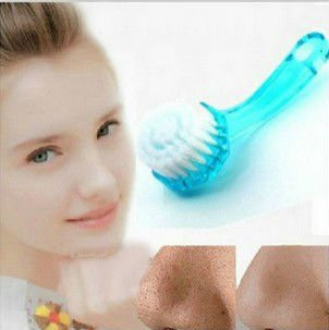 Facial Brush Face Cleaning Wash With Cap Skin Care Brush 1 Pcs
