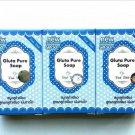 3X GLUTA GLUTATHIONE PURE SOAP WHITENING SKIN BEAUTY BLEACHING ANTI AGING 70 g(291366233148)