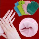 Spa Moisturising Gel Gloves Cracked Hand Care Treatment Soften One Pair Gloves(BICP048429)