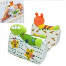Sozzy Baby Infant Airflow Sleep Positioner Anti Roll Pillow Cute Animal Style(BICP057184)