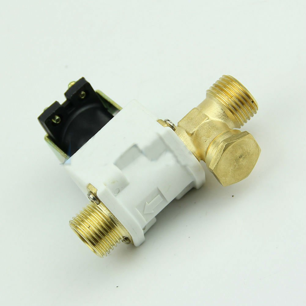 "1/2""Electric Solenoid Valve For Water Air N/C Normally Closed DC 12V Dealsbest"