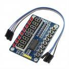 For AVR Arduino New 8-Bit Digital LED Tube 8-Bit TM1638 1pc Key Display Module  Dealsbest