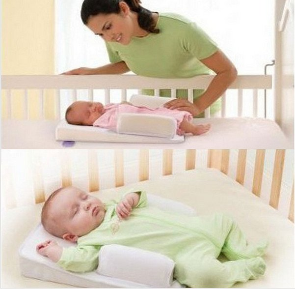 Baby Pillow Sleep Fixed Positioner System Waist Support Prevent Flat Head