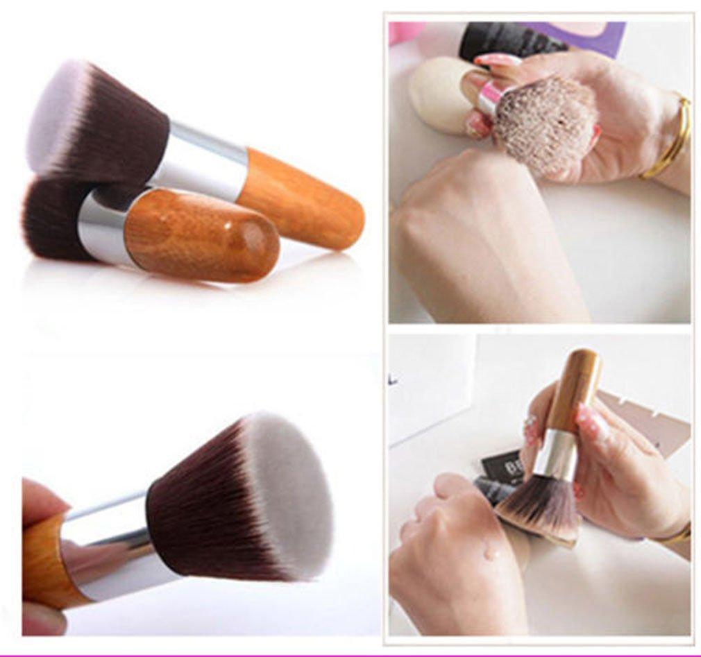 Pro Makeup Powder Blush Face Cheek Flat Contour Brush Foundation Cosmetic Tool