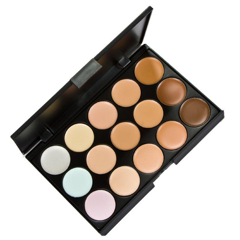 Concealer Contour Face Cream Makeup Palette 15 Colors  DB