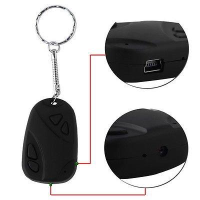 Mini 808 Car Key Chain Micro Camera HD 720P H.264 Pocket Camcorder