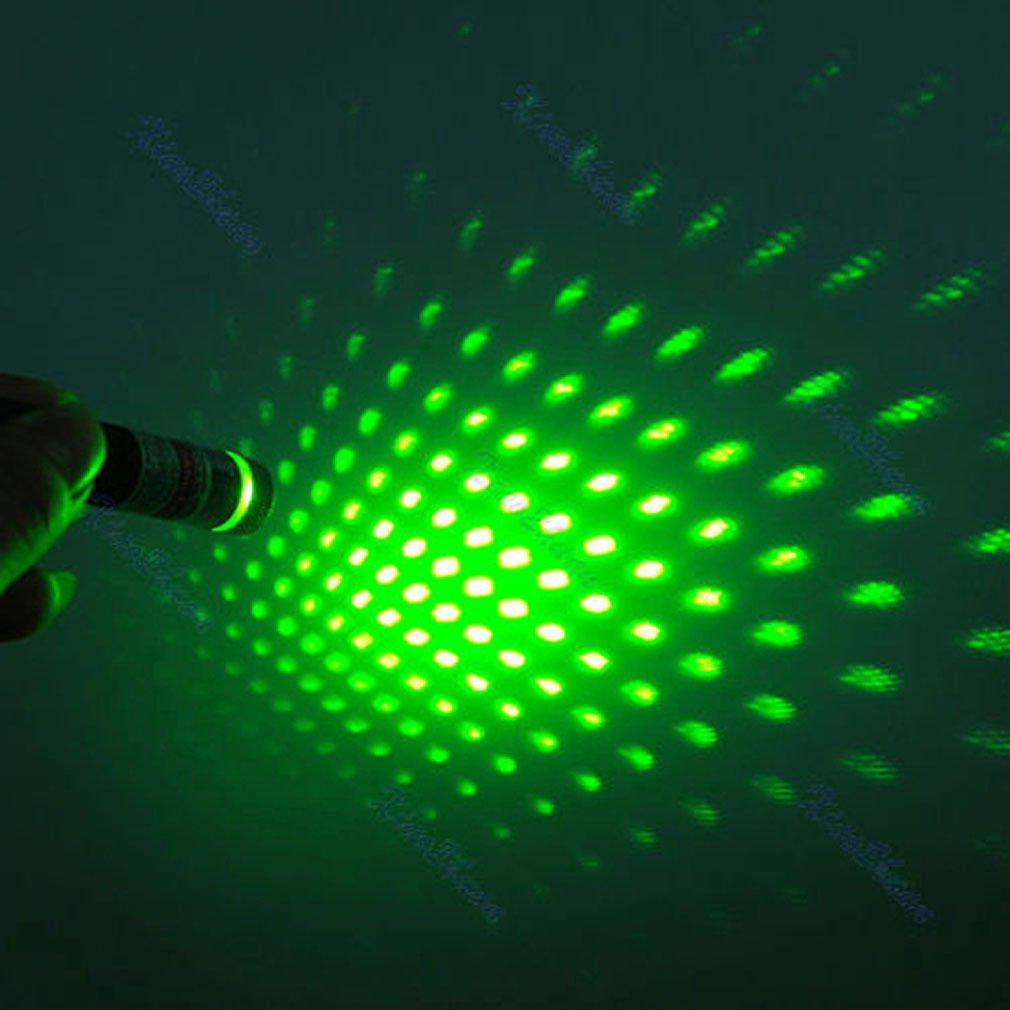2in1 Green Laser Star Cap Pointer Pen 532nm Constellation 5mW Stage Light