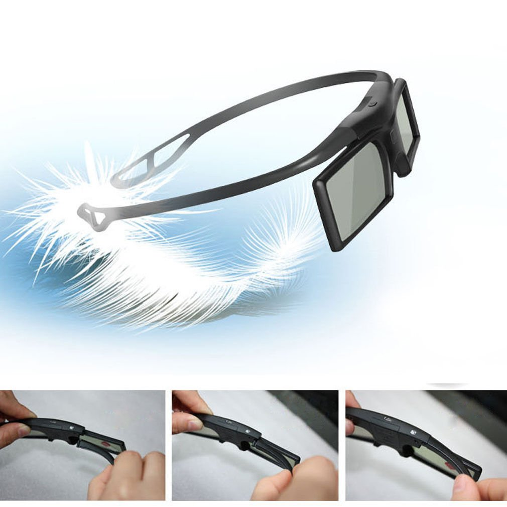 Bluetooth 3D Active Shutter Glasses for 3D Samsung LG TV HDTV Blue-ray Player DB