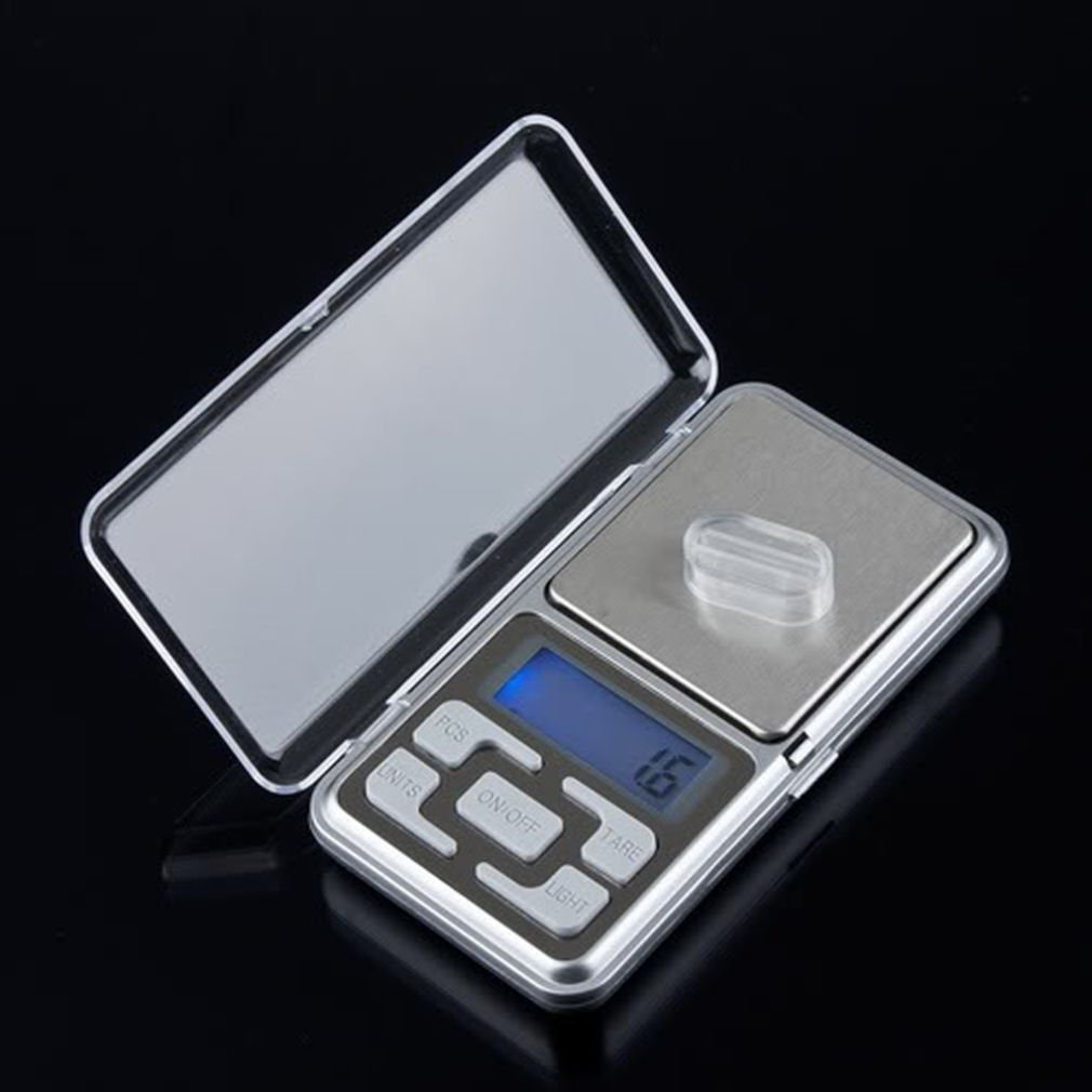 Stainless steel 500g 0.1g Digital Electronic LCD Jewelry Pocket Weight Scale  DB