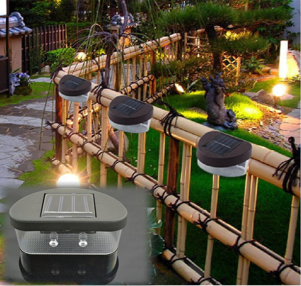 Green Outdoor LED Solar Power Flood Night Light Garden Path Household Decor Lamps DB