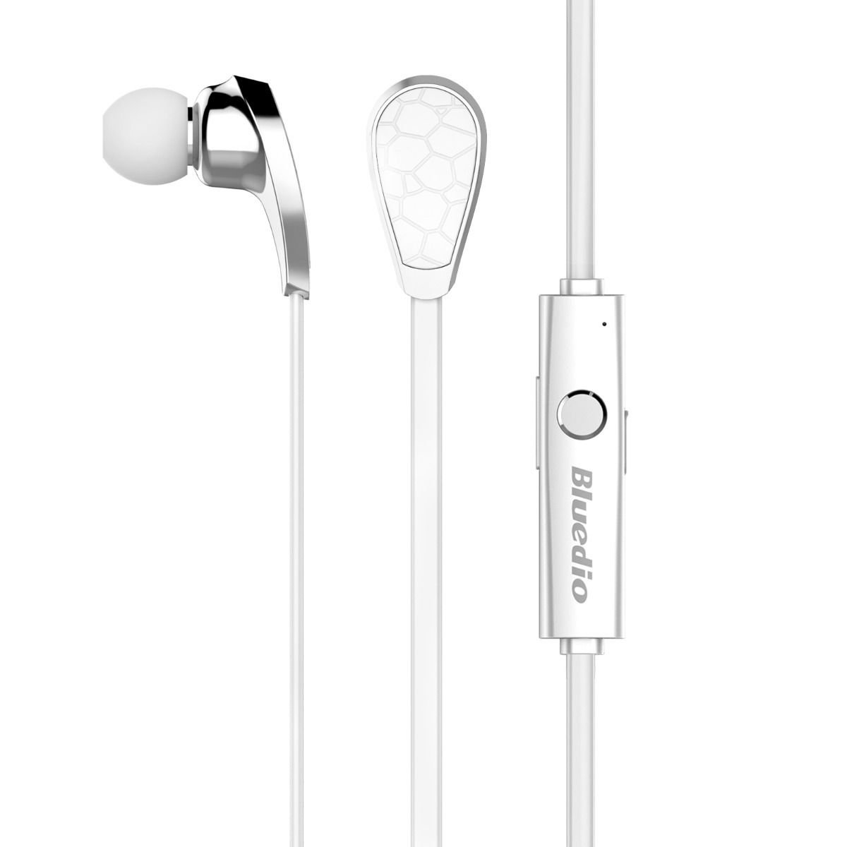 White Bluetooth 4.1 Wireless Stereo Earphone Handsfree Sport Headset for iPhone 5 5S 6 db