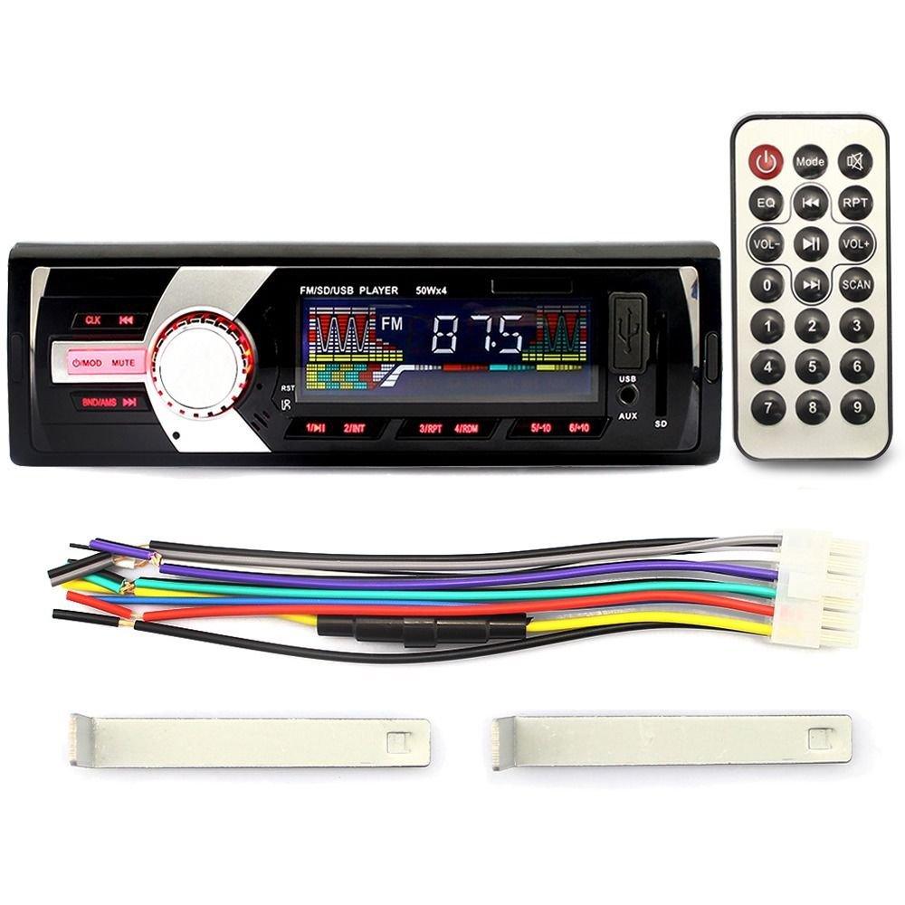 MP3 Player Radio & USB SD WMA AUX Car Audio Stereo In-Dash input FM Receiver  db