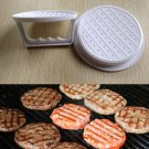 Plastic Hamburger Meat Beef Grill Burger Press Patty Maker Kitchen Mold Mould DB