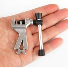 2in1 Cycling Bicycle Bike Steel Chain Breaker Repair Tool with Spoke Wrench Mini DB