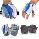 Size XL Cycling Bicycle Bike Motorcycle Gel Silicone Half Finger Fingerless Gloves DB