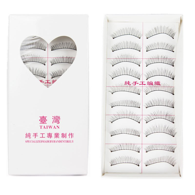 10Pairs Natural Thick Long False Eyelashes Fake Eye Lashes Voluminous Makeup DB