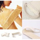 LOOFAH LOOFA BACK STRAP EXFOLIATING BODY BATH SHOWER BACK SPONGE BRUSH SCRUBBER DB