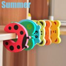 7pcs Bendy Cartoon Door Drawers Cupboard Safety Lock For Child Kids Baby DB