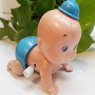 Cute Boy Windup Crawling Crawl Toy Doll Christmas Gift for Child Baby Kid DB