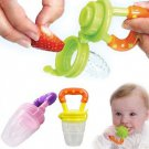 1 x Size L Pink Color Baby Pacifiers for feeding Baby Nibbler Feeder Feeding Tool DB