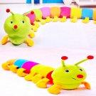 Colorful Inchworm Soft Lovely Developmental Kids Baby Toy Doll Toy DB