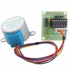 5V Stepper Motor 28BYJ-48 With Drive Test Module Board ULN2003 5 Line 4 Phase db