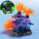 1 x Soft Artificial Resin Coral Fish Tank Aquarium Underwater Decoration db