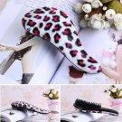 Red Leopard Magic Tangle Detangling Comb Shower Hair Brush Salon Comb db