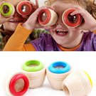 Wooden Educational Magic Kaleidoscope Baby Kid Children Learning Puzzle Toy 1 Pcs DB