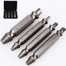 4Pcs Double Side Damaged Screw Extractor Out Remover Bolt Stud Tool #1 #2 #3 #4 DB