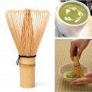 Japanese Ceremony Bamboo 64 Matcha Powder Whisk Green Tea Chasen Brush Tool One Pcs  db