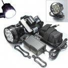 10000lumen 7x Cree XM-L T6 MTB Mountain Bike Bicycle Cycling Head Light Headlamp DB