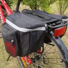 18L Waterproof Bike Red Rear Seat Tail Bag Bicycle Cycling Pannier Outdoor db