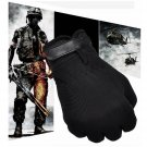 Military CS Tactical Airsoft Shooting Hunting Tactical Full Finger Gloves Black db