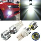 2 x T10 XBD CREE 6 LED 30W Super Bright White Bulb For Car Backup Reverse Light db